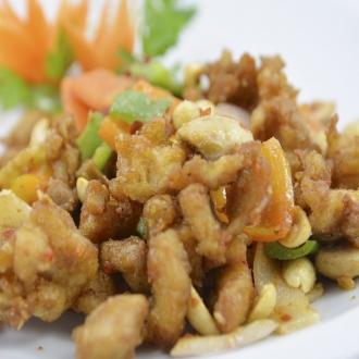 Pollo Gon-Bao (cacahuetes)