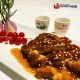 arroz al vapor con pollo en salsa teriyaki