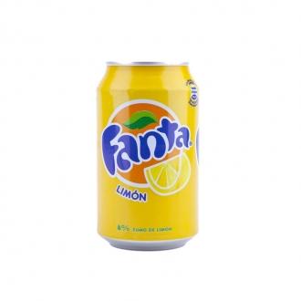 Fanta Limón Lata